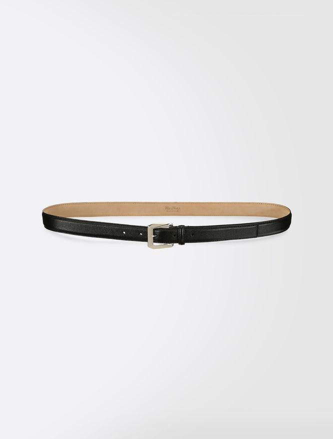 Sheepskin belt