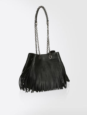 Nappa bucket bag