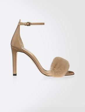 Patent sandalsPatent sandals