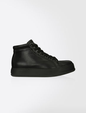 High-top nappa sneakers