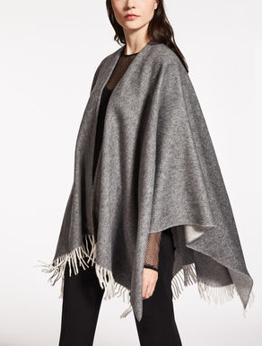 Pure wool cape