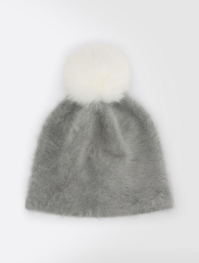 Kopfbedeckung aus Angora
