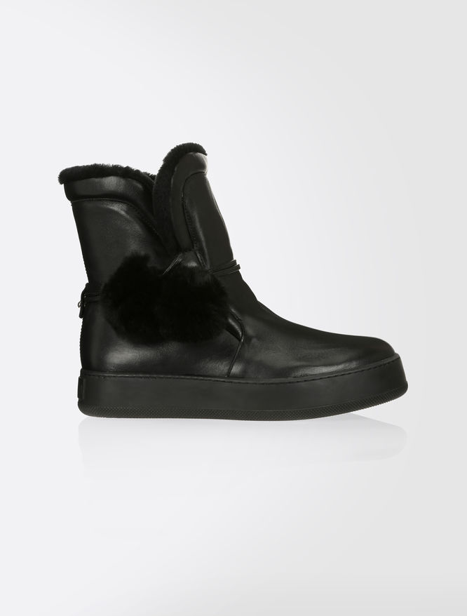 Nappa ankle boots