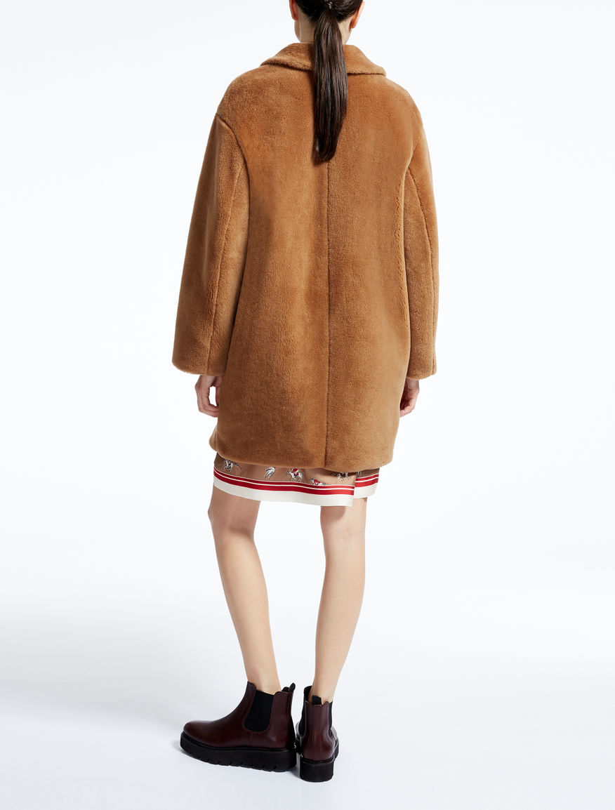 wool coat camel uovo max mara. Black Bedroom Furniture Sets. Home Design Ideas