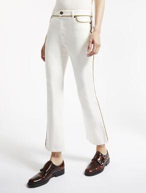 Jeans in denim di cotone stretch