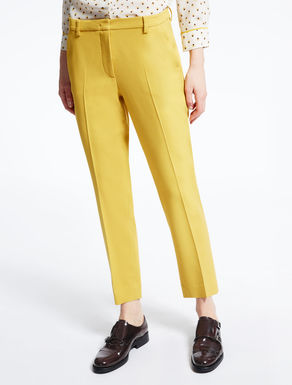 Wool cloth and viscose trousers