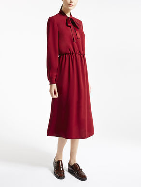Viscose sablé dress
