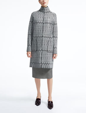 Cardigan in pura lana