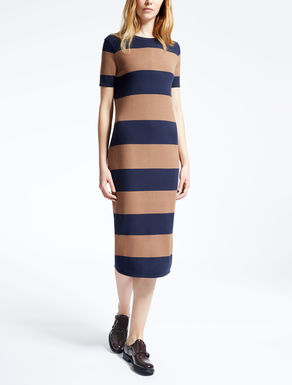 Viscose knit dress