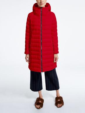 Drop-proof taffeta down jacket