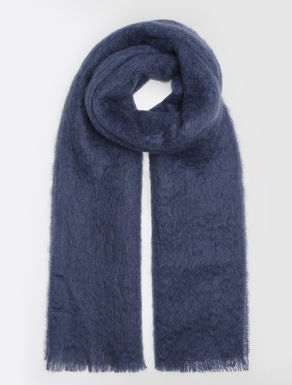 Wool and mohair stole