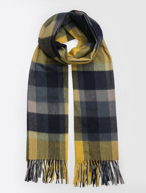 Wool and cashmere stole