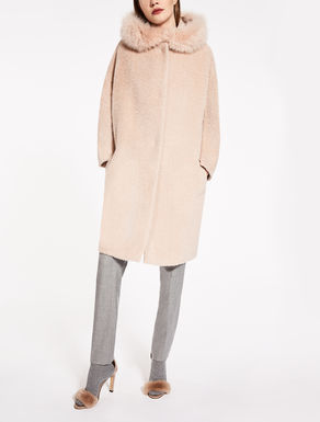 Mantel aus Alpaka und Wolle