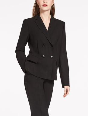 Wool crêpe jacket