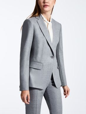 Wool flannel jacket