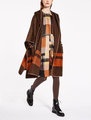 Suri Alpaca and wool cape