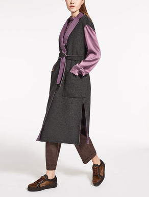 Wool and cashmere gilet