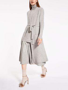 Chaleco de lana y cachemira