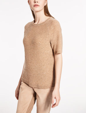 Cashmere and wool T-shirt