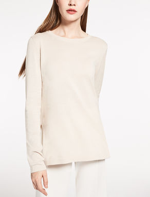 Silk and cotton sweater