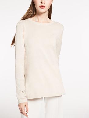 Jersey de seda y algodón
