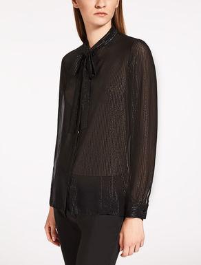 Camicia in chiffon di seta