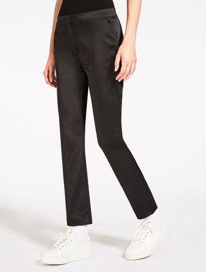 Pantaloni in raso
