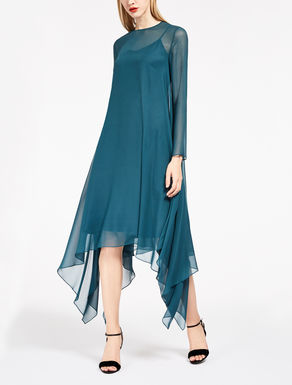 Silk georgette dress