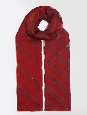 ウール シルクスカーフ