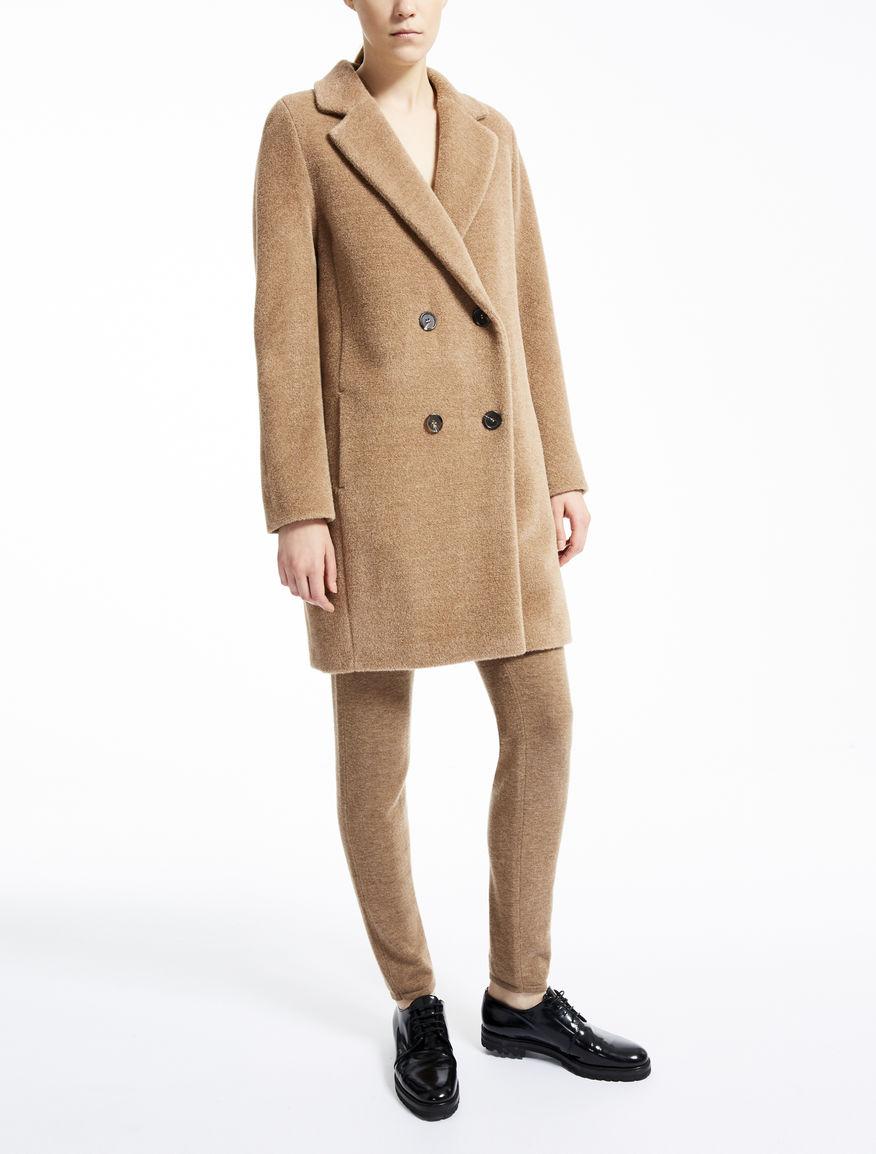 alpaca and wool coat camel kastel max mara. Black Bedroom Furniture Sets. Home Design Ideas