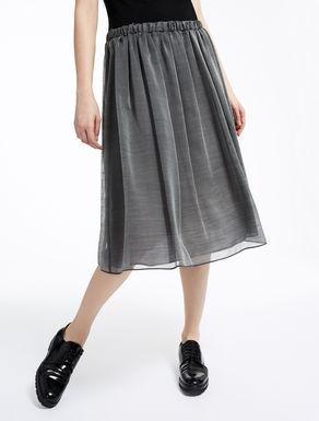 Wool and silk skirt