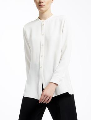 Silk crêpe de chine shirt