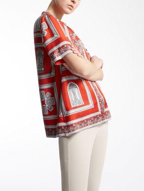 T-shirt en sergé de soie