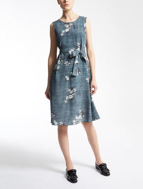 Silk crêpe de chine dress