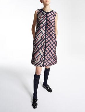 Vestido jacquard