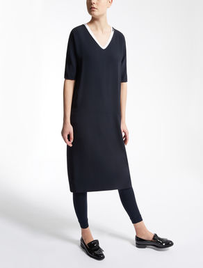 Cady and viscose dress