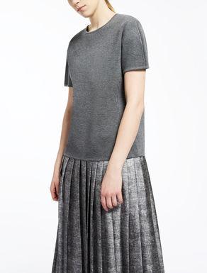 T-Shirt aus Wolle