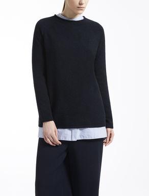 Cashmere knit shirt