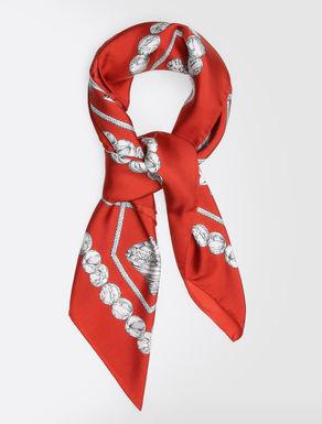 Pure silk handkerchief