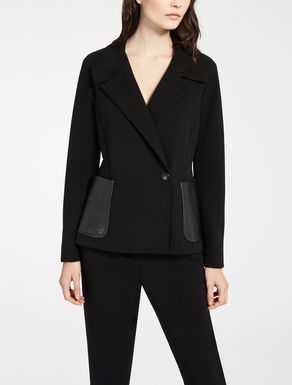 Wool crêpe jacket