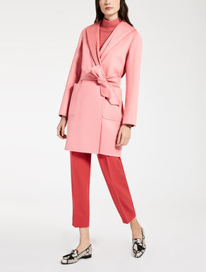 Pure cashmere coat