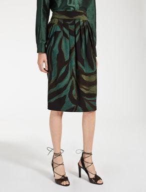 ビスコース キャディストレッチ スカート