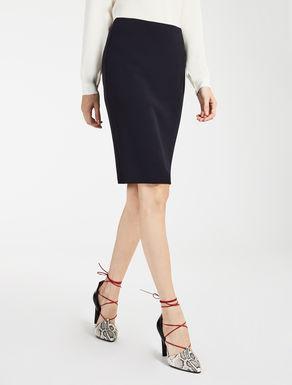 ヴァージンウールタイト スカート