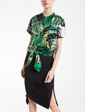 Camicia in twill di seta
