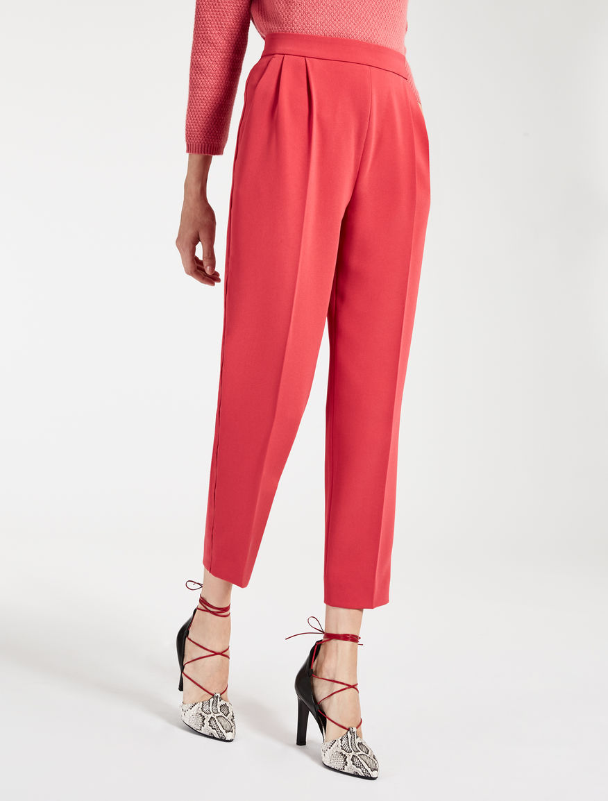 cady trousers coral bonito max mara. Black Bedroom Furniture Sets. Home Design Ideas
