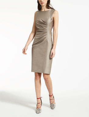 Wool and silk dress
