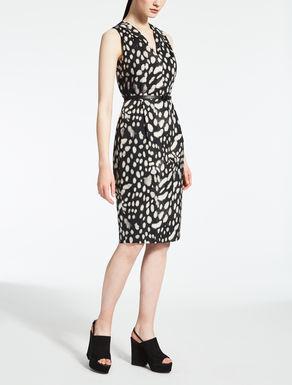 ピュア コットンプリント ドレス