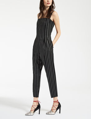Pure wool jumpsuit