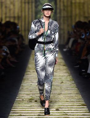 Silk twill jumpsuit