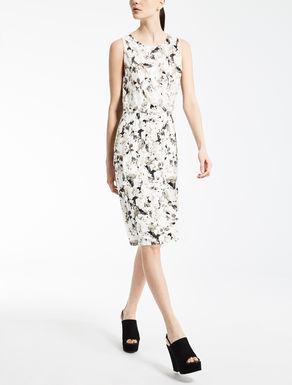バイマテリアルジャージー ドレス